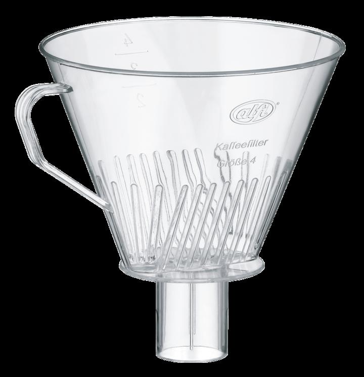 kaffeefilter transparent